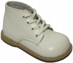 LEATHER BABY WALKING SHOES BY: CAVOO (0441501-3) WHITE
