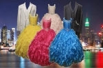 GIRLS COLOR DRESSES