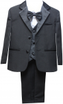 BOYS CHRISTENING TUXEDOS (BLACK)