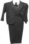 BOYS CHRISTENING TUXEDOS (BLACK) 0512234