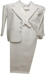 BOYS CHRISTENING TUXEDOS (WHITE) 0512234