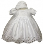 Girls Christening Dress-0515423-White