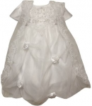 Girls Christening Dress 0515424-White
