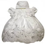 Girls Christening Dress 0515444-White
