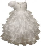 White Communion dress -0515483 (WHITE)