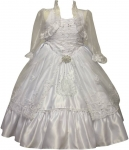 GIRLS COMMUNION DRESSES (0515492) WHITE