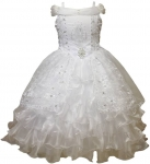 White Communion Dress - 0515511White