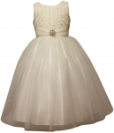GIRLS CASUAL DRESSES  (0515716) IVORY