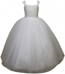 GIRLS COMMUNION DRESSES (0515730) WHITE