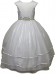 GIRLS COMMUNION DRESSES (0515736) WHITE