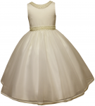 GIRLS COMMUNION DRESSES (0515737) IVORY