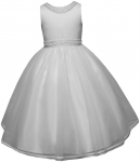 GIRLS COMMUNION DRESSES (0515737) WHITE