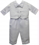 BOYS CHRISTENING SUIT & VEST