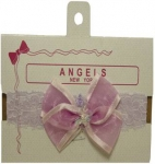 Head Band w/ Organza 0666005-Lilac