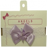 Head Band w/ Organza 0666006-Lilac