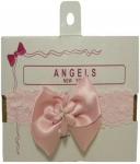 Head Band w/ Organza 0666006-Pink