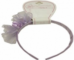 Head Band w/ Organza-0666025-Lilac