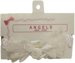 Hair Bow w/ Elastic-0666059-White