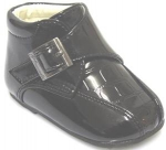 Craco Double Mug Toe w/ Velcro Buckle-Black/Croco