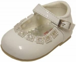 Girls Low Top Dressy Shoe w/ Rhinestones