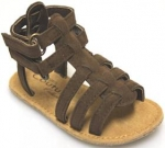 Girls Strap Casual Sandels-Brown