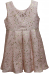 GIRLS CASUAL DRESSES (12404) PINK