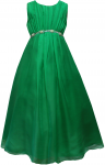 GIRLS CASUAL DRESSES (1241009) GREEN