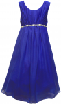 GIRLS CASUAL DRESSES (1241009) R.BLUE