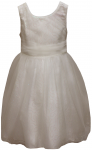 GIRLS CASUAL DRESSES (1241228) IVORY