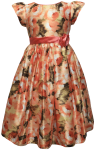 GIRLS CASUAL DRESSES (1241324642) CORAL
