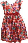 GIRLS CASUAL DRESSES (1241324643) RED