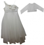 GIRLS CASUAL DRESSES (1241324916) IVORY