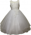 GIRLS FLOWER DRESSES (1242402) WHITE