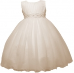 GIRLS FLOWER DRESSES (1242403) IVORY
