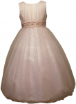 GIRLS FLOWER DRESSES (1242403) PINK