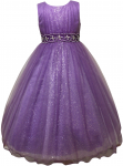 GIRLS FLOWER DRESSES (1242403) PURPLE