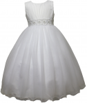 GIRLS FLOWER DRESSES (1242403) WHITE