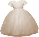 GIRLS FLOWER DRESSES (1242406) IVORY