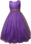 GIRLS FLOWER DRESSES (1242407) PURPLE
