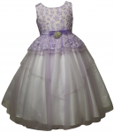 GIRLS FLOWER DRESSES (1242414) LILAC