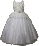 GIRLS FLOWER DRESSES (1242414) WHITE