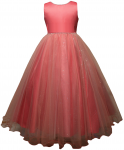 GIRLS FLOWER DRESSES (1242415) CORAL
