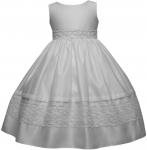 GIRLS FLOWER DRESSES (1242416) WHITE