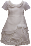 GIRLS CASUAL DRESSES (124811) IVORY