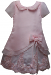 GIRLS CASUAL DRESSES (124811) PINK