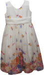 GIRLS CASUAL DRESSES (124BL135) IVORY