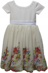 GIRLS CASUAL DRESSES (124BL774) IVORY