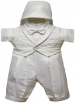 Boys Fancy Christening Suit 2072104-White
