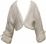 Girls Fancy Fur Jacket  - 2092031 White
