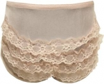 Accesories Nylon Panty w/ Lace 2102001-Pink